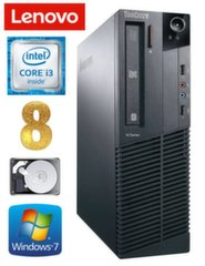 Lenovo ThinkCentre M82 SFF i3-2120 8GB 250GB WIN7Pro