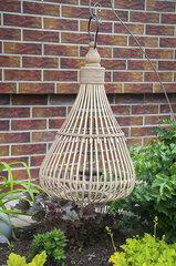 Laterna no bambusa 43X43X71 cm