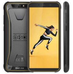 Blackview BV5500, Dual SIM 2/16 GB, Dzeltens