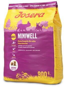 Josera atvieglo gremošanas sistēmas darbību maziem suņiem Miniwell, 900 g
