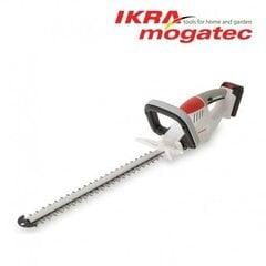 Аккумуляторный кусторез 20В 2Ач Ikra Mogatec IAHS 20-1 цена и информация | Кусторезы, ножницы для газона | 220.lv