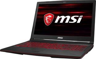 MSI GL63 8SC-028XPL 16 GB RAM/ 512 GB SSD/ Windows 10 Home