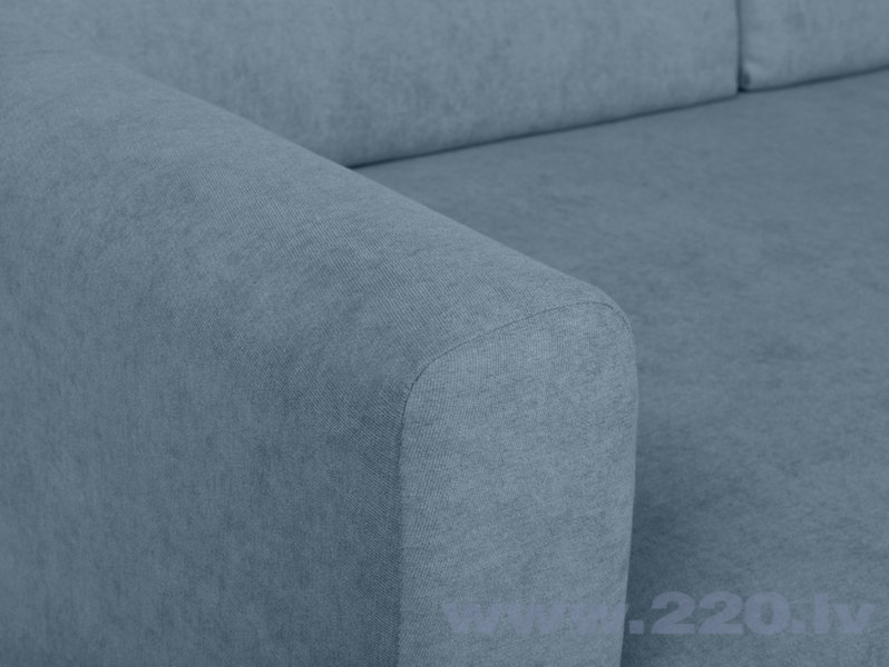 Universāls mīkstais stūra dīvāns BRW Feliz, zils