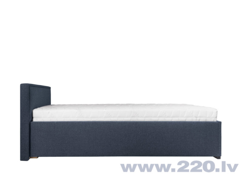 Кровать BRW Anadia, 90x200 см, синяя