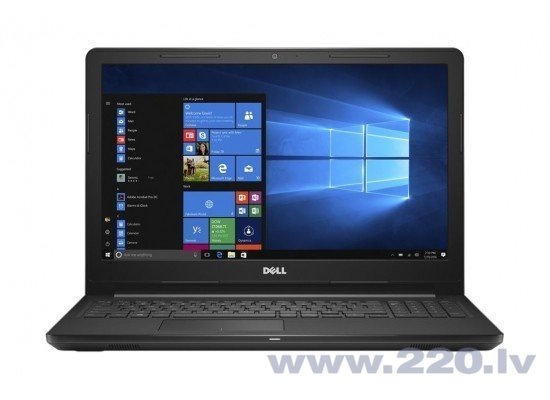 Dell Inspiron 15 3582 N4000 4GB 500GB Win10H internetā