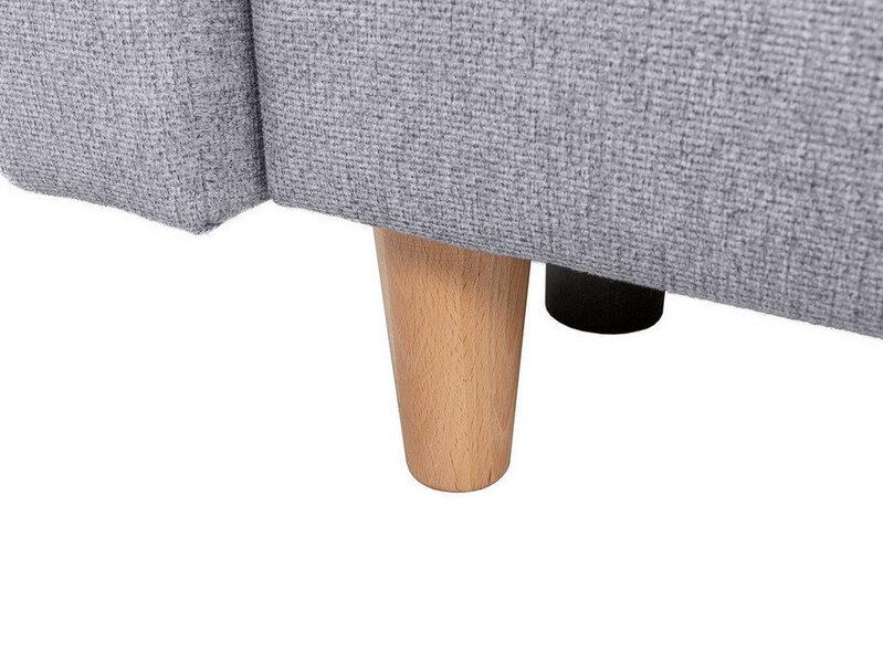Dīvāns BRW Aradena, pelēks