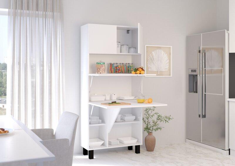 Шкаф-трансформер - письменный стол Homi, белый отзыв