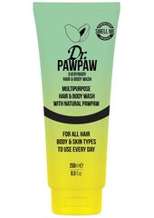 Matu un ķermeņa šampūns Dr. PawPaw Everybody Hair And Body Wash 250 ml cena un informācija | Matu un ķermeņa šampūns Dr. PawPaw Everybody Hair And Body Wash 250 ml | 220.lv