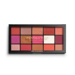 Acu ēnu palete Makeup Revolution Re-Loaded 16.5 g, Red Alert