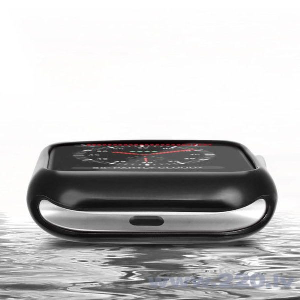 DUX DUCIS 2x Gel Case TPU Cover for Apple Watch 4 40mm silver and transparent