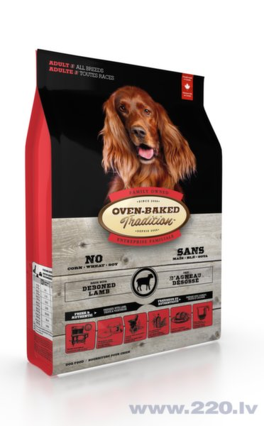 Oven Baked Tradition Adult All Breeds Lamb Rice s.m. suņiem 2,27kg