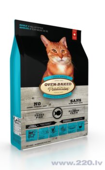 Oven Baked Tradition Adult Cat Fish s.m. kaķiem 2,27kg