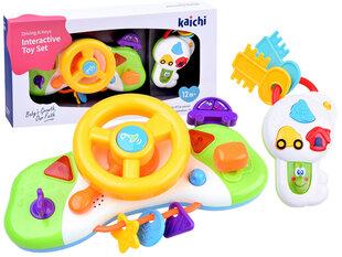 Interaktīvais rotaļlietu stūres rats, Kaichi