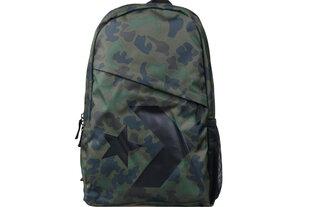 Mugursoma Converse Speed Backpack 10006641-A02, zaļa cena un informācija   Mugursoma Converse Speed Backpack 10006641-A02, zaļa   220.lv
