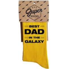 "Zeķes ""Best dad in the galaxy"""