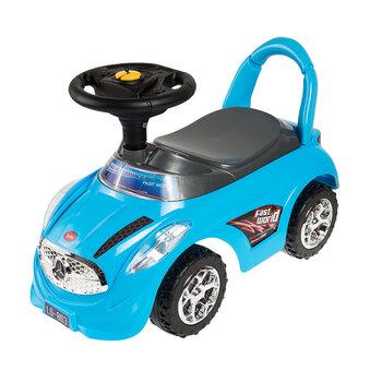 Stumjamā mašīna Smiki Sit n' Ride With Me, zila