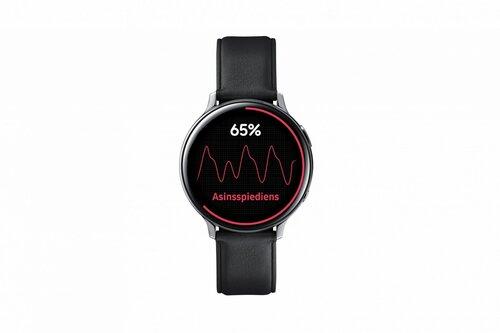 Samsung Galaxy Watch Active 2 BT, 44mm, Black Stainless cena un informācija | Viedpulksteņi (smartwatch) | 220.lv