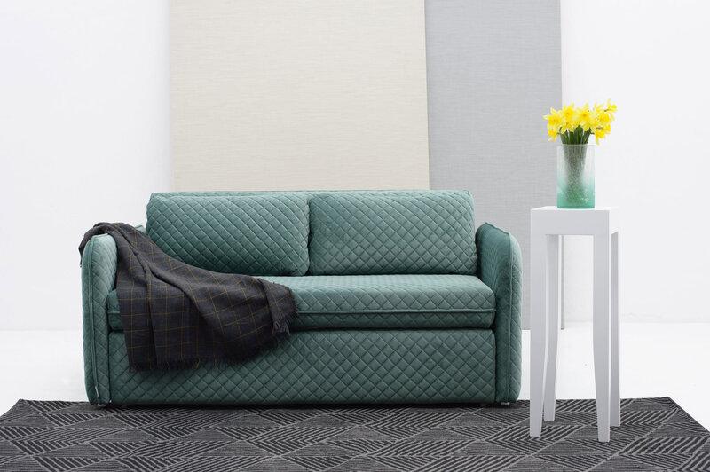 Dīvāns Lauksva Lazo, zils