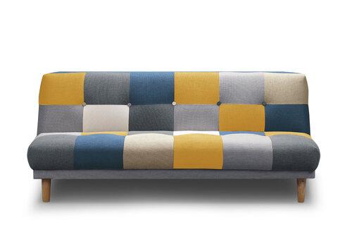 Dīvāns NORE Victor, krāsains