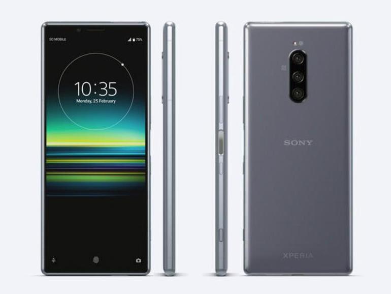Sony Xperia 1 (J9110), 128GB, Dual SIM, Pelēks