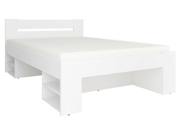 Gulta BRW Nepo Plus LOZ3S, 140x200 cm, balta