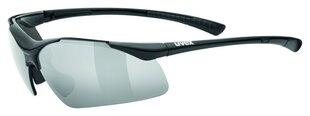 Brilles Uvex Sportstyle 223, melnas