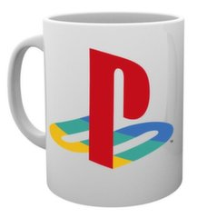 PLAYSTATION Colour logo krūze