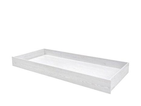 Gultas veļas kaste gultai BRW Porto, balta cena un informācija | Piederumi mēbelēm | 220.lv