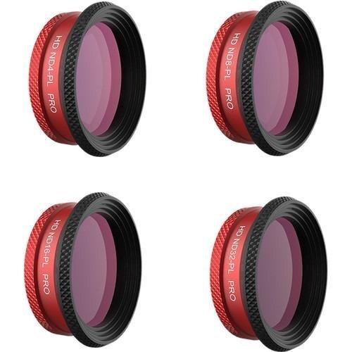 Световой фильтр PGYTECH ND-PL 4/8/16/32 для беспилотника DJI Mavic Air, 4 шт.