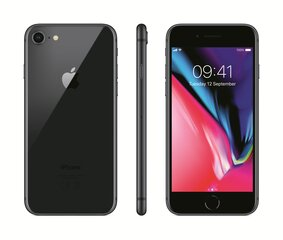 Apple iPhone 8, 128GB, Space Gray