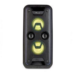 Bluetooth skaļruņi NGS WILDJAM LED FM 120W, Melni