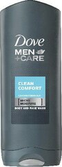 Dušas želeja Dove Men Care Clean Comfort Body & Face Wash 250 ml
