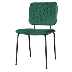 Krēsls Selsey Anthony, zaļš cena un informācija | Virtuves un ēdamistabas krēsli | 220.lv