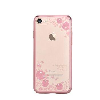Devia iPhone 7/8 - Crystal Joyous Aizmugurējais apvalks ar Swarovski kristāliem, Caurspīdīgs
