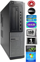 DELL Optiplex 7010 Core i5-3570 16GB 240ssd   1TB HDD GTX1050ti 4gb Windows 7 Professional (Atjaunots) cena un informācija | DELL Optiplex 7010 Core i5-3570 16GB 240ssd   1TB HDD GTX1050ti 4gb Windows 7 Professional (Atjaunots) | 220.lv