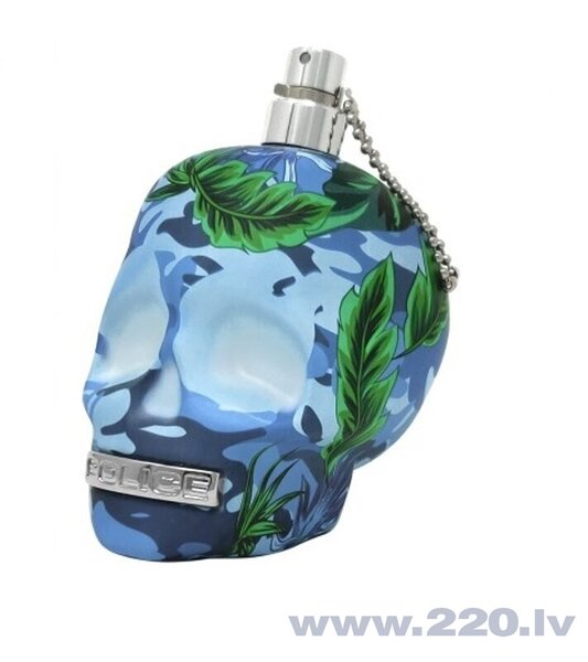 Tualetes ūdens Police To Be Exotic Jungle For Man EDT vīriešiem 40 ml