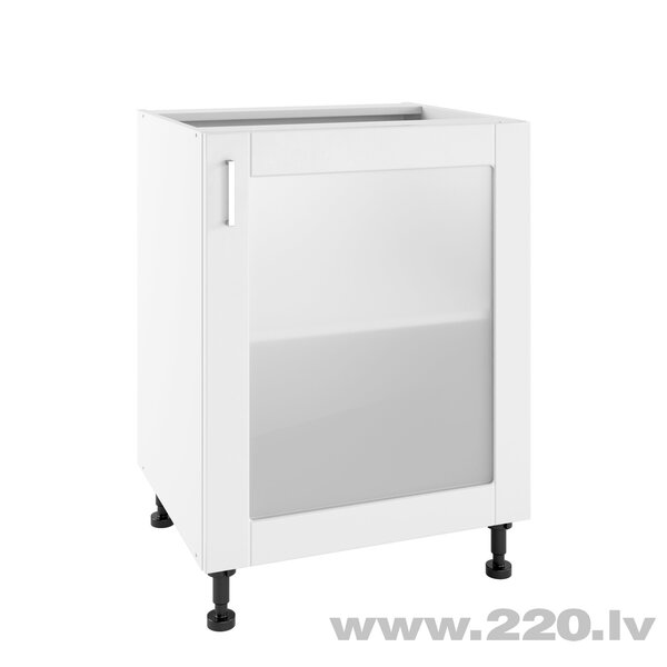 Virtuves skapītis Lupus Milano 1DS 60 cm, balts