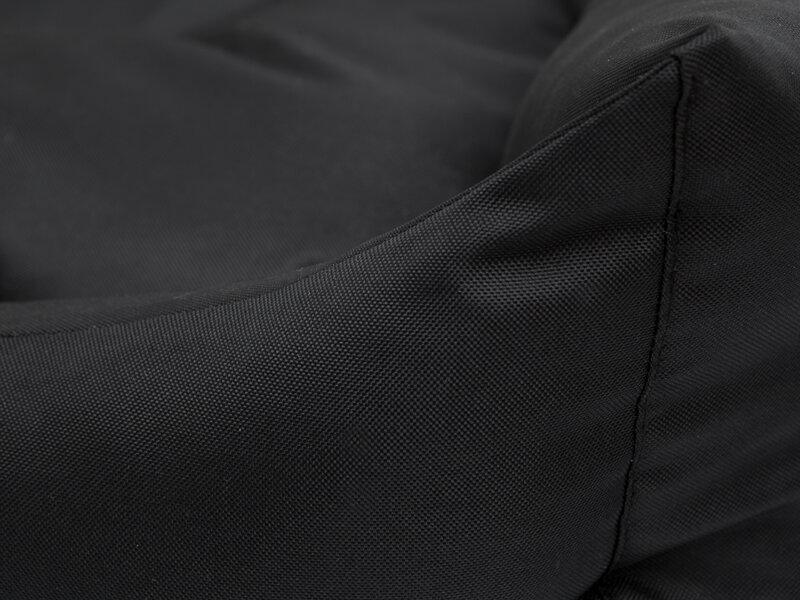 Hobbydog guļvieta Eco L, 62x43 cm, melna atsauksme