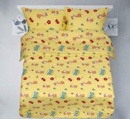 Gultas veļas komplekts 2 daļas, audekls cena un informācija | Bērnu gultas veļa | 220.lv
