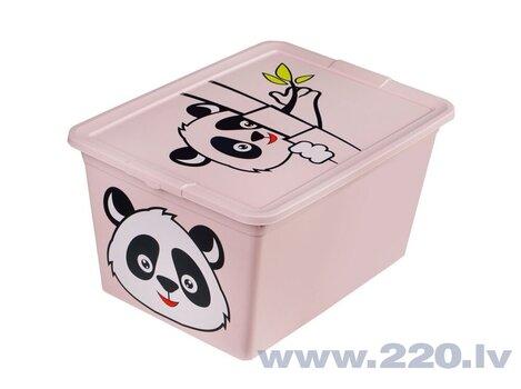 Branq uzglabāšanas kaste Panda X Box Deco Animal, 30 l