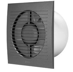Elektriskais ventilators E-EXTRA, Ø125mm ar taimeri, mitruma sensoru cena un informācija | Elektriskais ventilators E-EXTRA, Ø125mm ar taimeri, mitruma sensoru | 220.lv