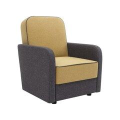 Кресло Kobik Ola Tatum 275, желтое / черное цена и информация | Кресло Kobik Ola Tatum 275, желтое / черное | 220.lv