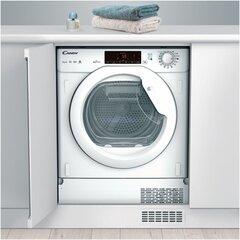 Iebūvējamais veļas žāvētājs Candy CBTD 7A1TE-S/ cena un informācija | Veļas žāvētāji | 220.lv