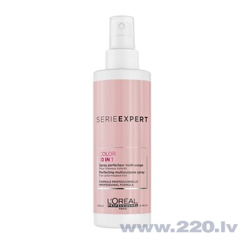 Sprejs krāsotiem matiem L'Oreal Serie Expert Vitamino Color 10-In-1 190 ml