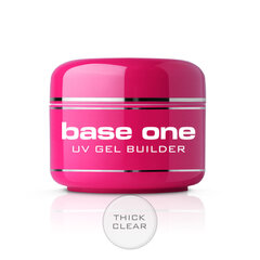 Bāzes gels nagiem Silcare Base One 30 g, Thick Clear cena un informācija | Bāzes gels nagiem Silcare Base One 30 g, Thick Clear | 220.lv