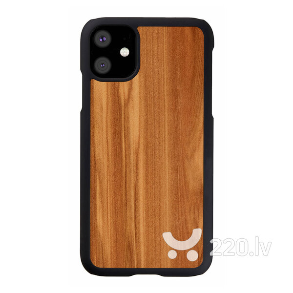 MAN&WOOD SmartPhone case iPhone 11 cappuccino black