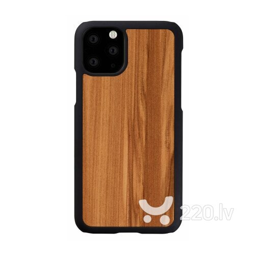 MAN&WOOD SmartPhone case iPhone 11 Pro cappuccino black