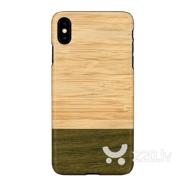 MAN&WOOD SmartPhone case iPhone XS Max bamboo forest