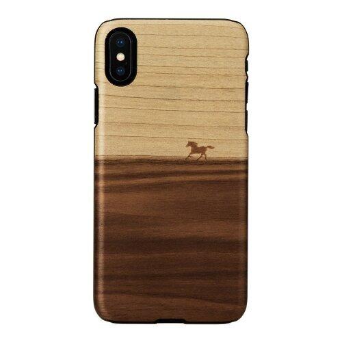 MAN&WOOD SmartPhone case iPhone X/XS mustang black