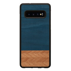 MAN&WOOD SmartPhone case Galaxy S10 denim black